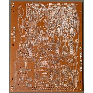 Płytka PCB wzmacniacza WSH-110 / WSH-111