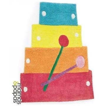 Mamas & Papas Pippop cymbałki dywan + organizer