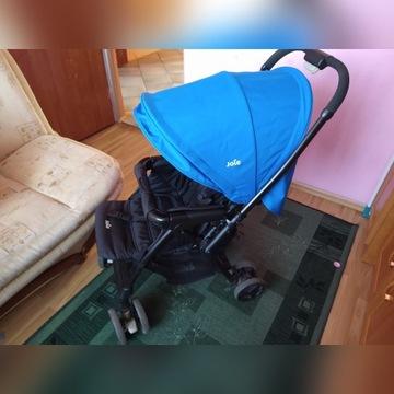 Wózek Joie Mirus  Blue  spacerowy