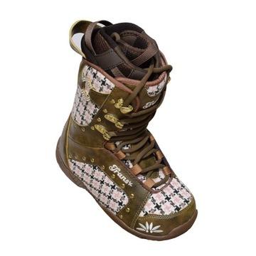 Buty snowboardowe styl Burton r. 38/dł. wkładki 25