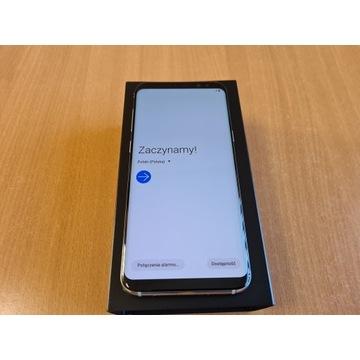 Samsung Galaxy S8+ 64GB Silver - IDEALNY + Etui