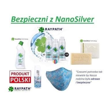 Skoncentrowany eko-płyn do prania z Nanosrebrem