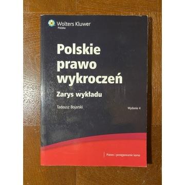 Polskie prawo wykroczeń. Zarys wykładu