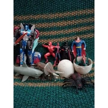 9 Figurek Darth Vader Spiderman Optimus Prime