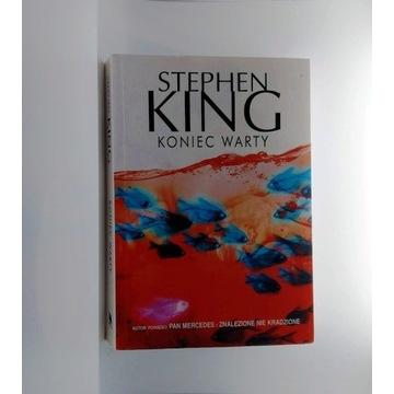 "Stephen King ""Koniec warty"""