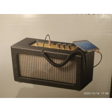 TCHIBO głośnik RETRO Bluetooth NOWY prezent