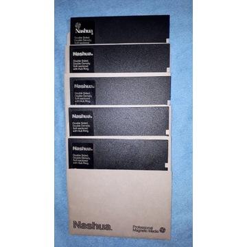 Dyskietki Nashua MD2D DD 5szt Gry Commodore C64
