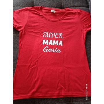 Koszulka Super Mama Gosia