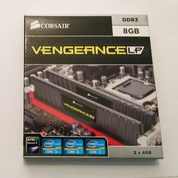Corsair Vengeance LP 8Gb (2x4) DDR3 1600MHz