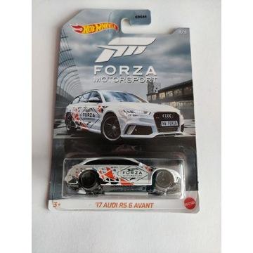 Hot Wheels Forza Motorsport 17 Audi Rs6 Avant