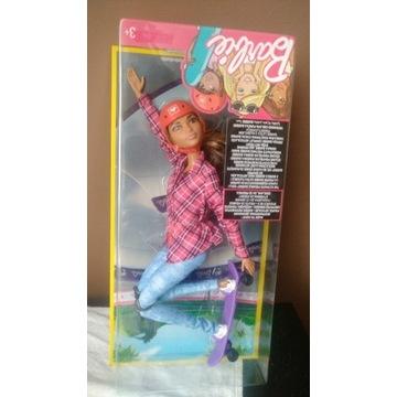 Barbie made to move skaterka DVF68 DVF70, nowa