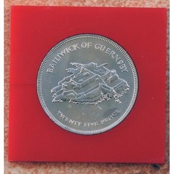 Moneta Elżbieta II 1997r.