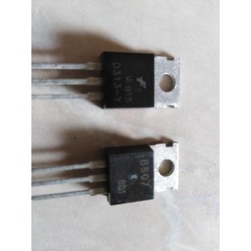 Tranzystory 2SB507 /2SD313