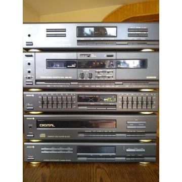 Wieża Diora 502, wzm deck equalizer CD tuner pilot