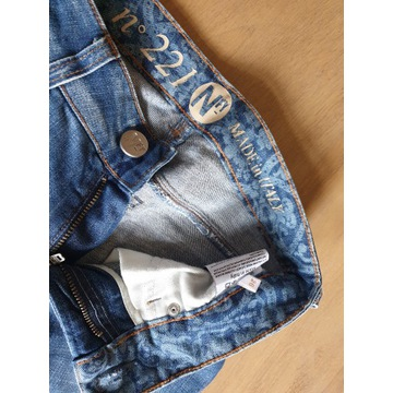 perełki mohito h&m jeansy italy, bluzki koszule