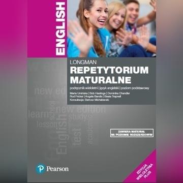Repetytorium maturalne  Longman Pearson Angielski