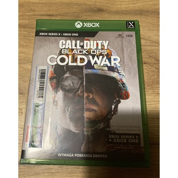 CALL OF DUTY BLACK OPS COLD WAR XBOX SERIES S|X