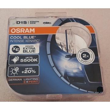 Xenon D1S Cool Blue Intense 35 W 5500K + W5W
