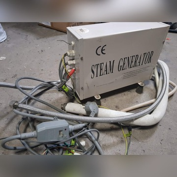 Generator pary do wanny z hydromasażem