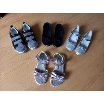 Buty dla dziewczynki rozm 33-34