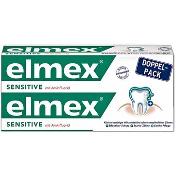 elmex pasta do zębów 2x75 ml sensitive niemiecka