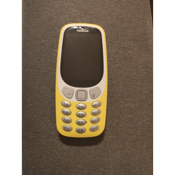 Nokia 3310 3g dual SIM żółty