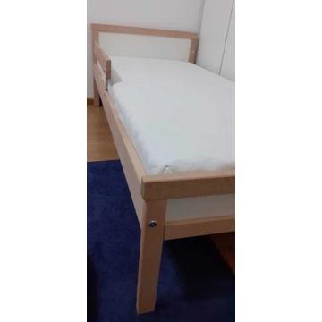 Łóżko dziecięce IKEA SNIGLAR + MATERAC + BALDACHIM