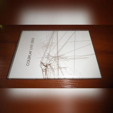 COLDPLAY LIVE 2003 DVD +CD
