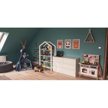 Regał XXL domek dla dzieci/ półka na zabawki