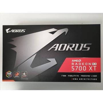 Radeon RX 5700 XT Gigabyte/Aorus 8GB GDDR6