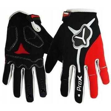 Rękawiczki rowerowe/sportowe długie palce XXL