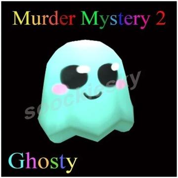 ROBLOX Murder Mystery 2 Ghosty PET