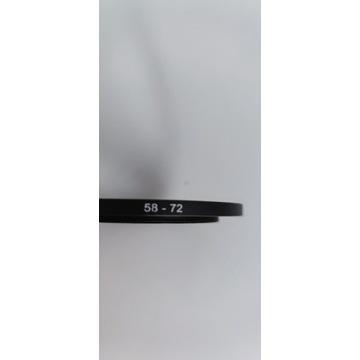 Redukcje filtrowe (pierścienie redukcyjne) 58-82mm