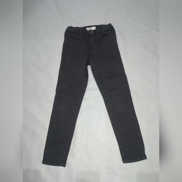 Spodnie jeansowe dziewczęce Zara 116