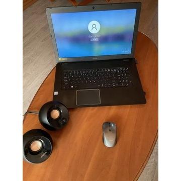 Acer aspire i5 17 cali. Dysk SSD/M2