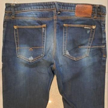 NOWE spodnie - Pull and Bear rozm 42 - real foto