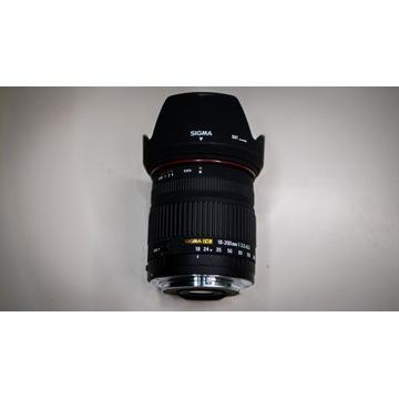 Obiektyw Sigma DC 18-200mm