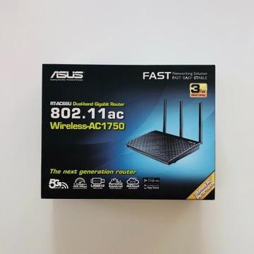 RT-AC66U router WiFi AC1750 1WAN 4LAN-1GB 2USB