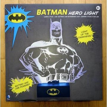 Batman Hero Lamp lampka 3D LED USB lub baterie