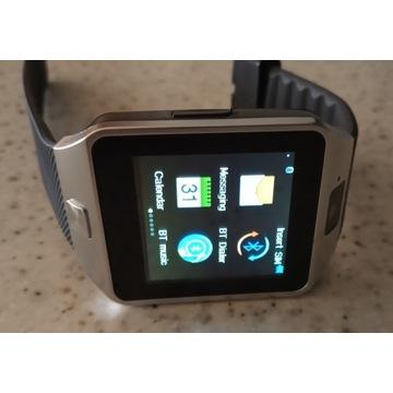 Smartwatch Telefon w zegarku z kamerą DZ09