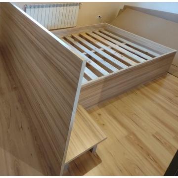 Łóżko pod materac 160x200 wym. 2570x2060 DSJ SUPER