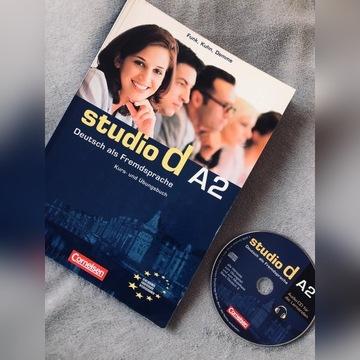 Studio d A2 Kurs und Ubungsbuch podręcznik + CD