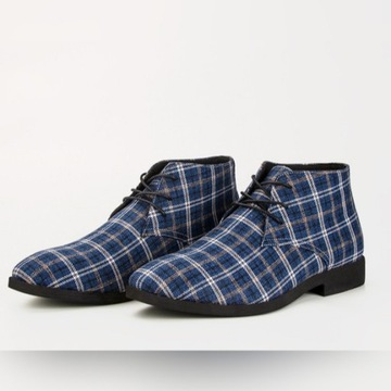 Modne buty męskie - trzewiki wiosenne, rozm. 46