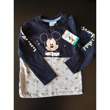 Nowa bluzka mikey disneybaby r.86