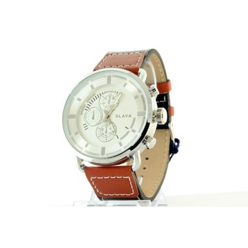 Zegarek męski Slava 10010 Srebrny