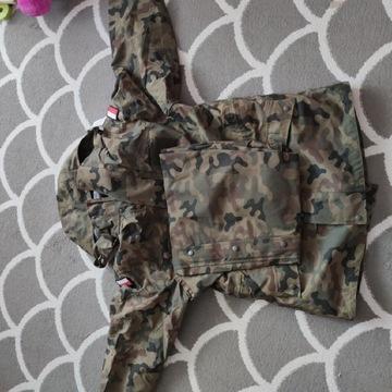Kurtka i spodnie ubrania ochronnego 128/MON XL/L