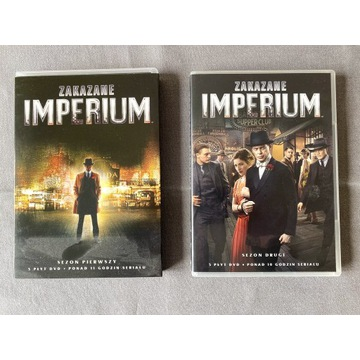 Zakazane Imperium - Sezon 1 i 2 - stan idealny