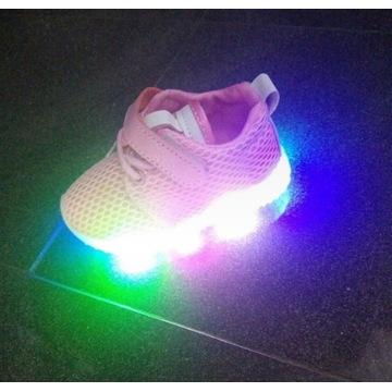 Buty świecące migające adidasy 22