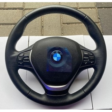Kierownica z poduszką BMW F20 F21 multifukc skóra