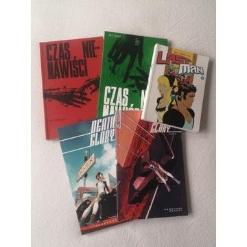 Zestaw komiksów z wydawnictwa Non Stop Comics